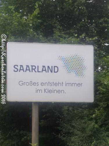 Schild Saarland