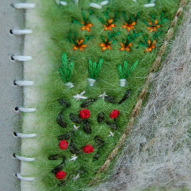 Fiber Art Thingy - detail 1