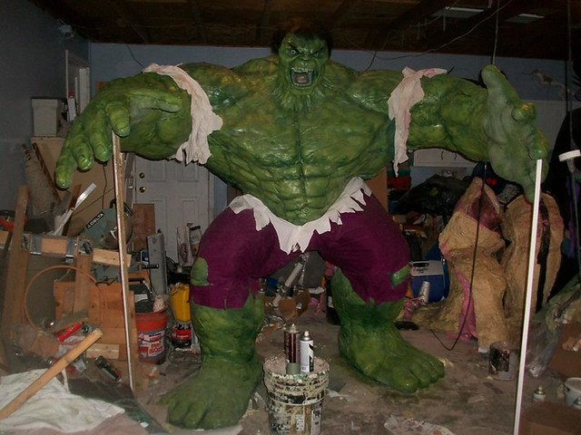 BrazenMonkey costume design and sculpting by John Marks - Incredible Hulk
