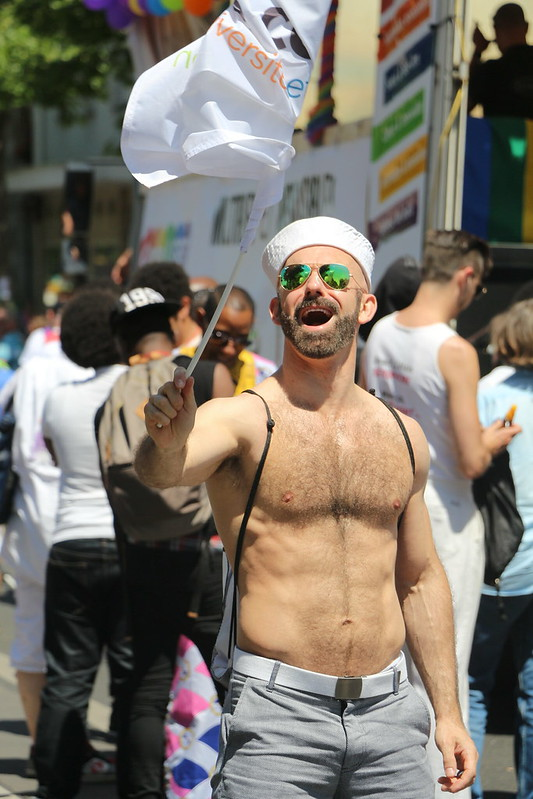 La Gay Pride à Paris le 2 juillet 2016