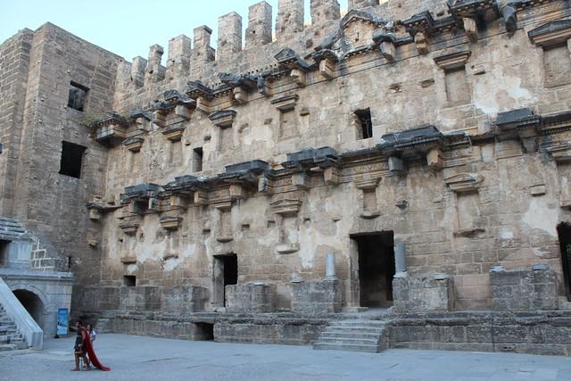 西元2世紀的阿斯班多斯劇場