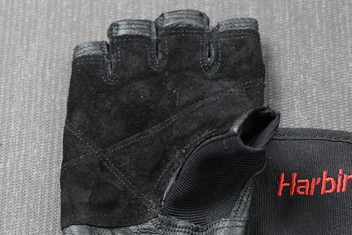 運動健身重訓手套推薦_台中漢思運動_Harbinger 專業束腕重訓健身手套 (5)
