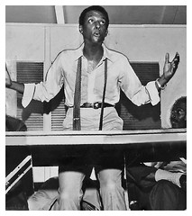 Stokely Carmichael (Kwame Ture) Delivering a Speech: 1965