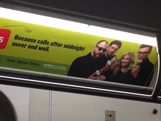 Subway Ad: 8G Band for Seamless