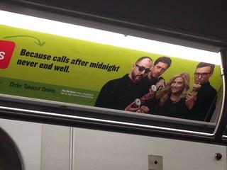 Subway Ad: 8G Band for Seamless