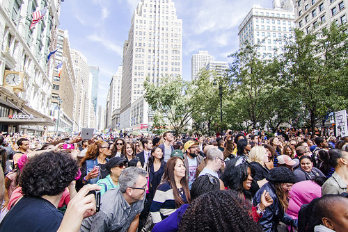 big freedia @ herald square, NYC 9/25/13 | by wei never sleeps