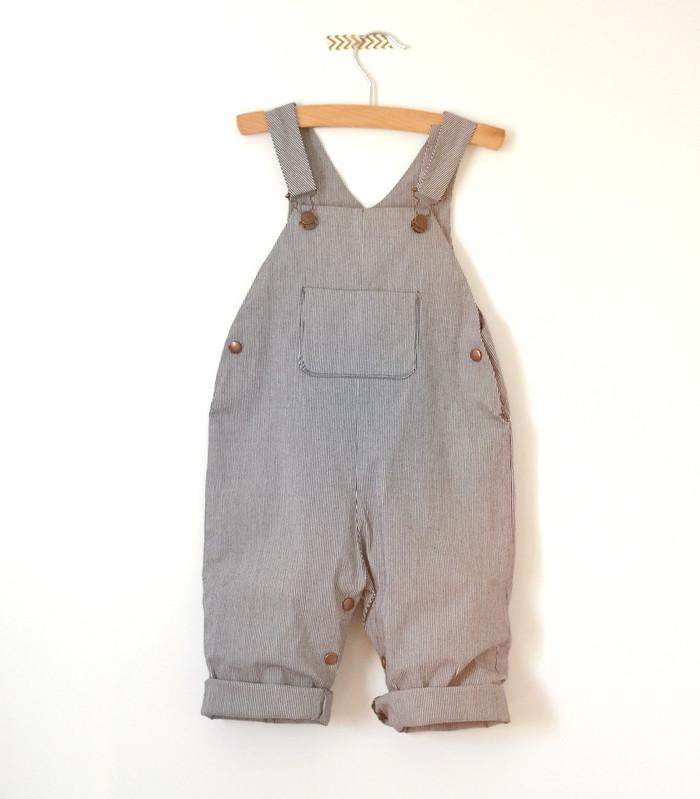 Salopette couture bébé Paul