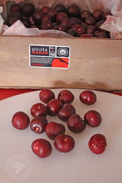 Ensalada de brevas rellenas de foie con vinagreta de picotas del Jerte (3)