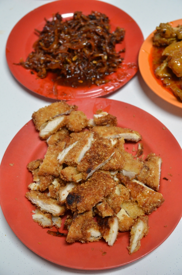 Hainanese fried pork chop