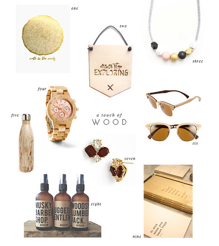 loving... wood - wooden - accessories | by justbellablog