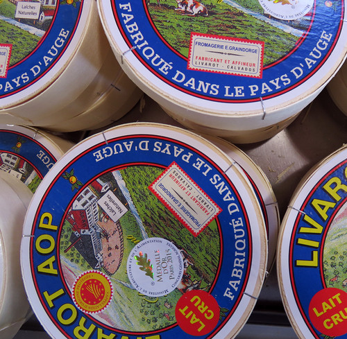 Cheese for sale in Livarot