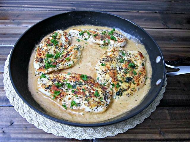Creamy Herb Chicken Skillet