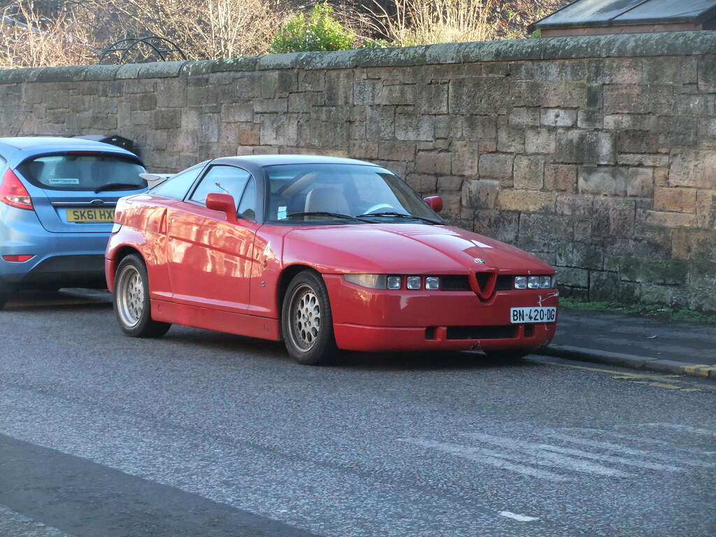 Alfa Romeo Sz Granville Terrace Jan 2017a Amazing Looking Flickr