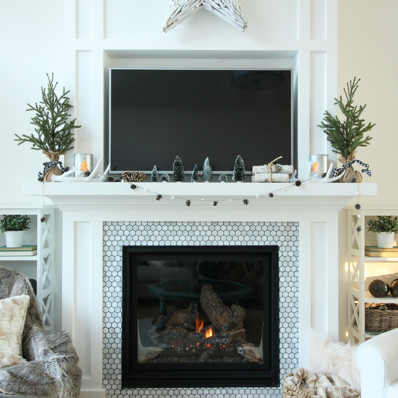 square-unwatermarked-Simple-Rustic-Natural-Winter-Mantel-Decor-with-Bottle-Brush-Trees-at-the-happy-housie-3-2