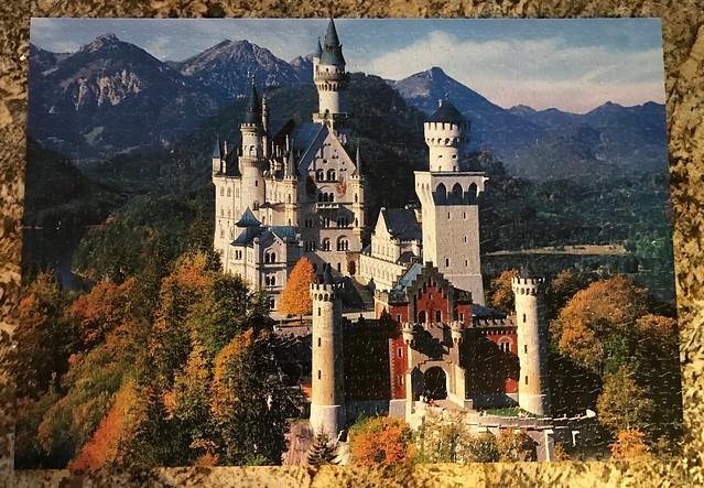 Puzzle - Neuschwanstein Castle, Hohenschwangau, Bavaria, Germany