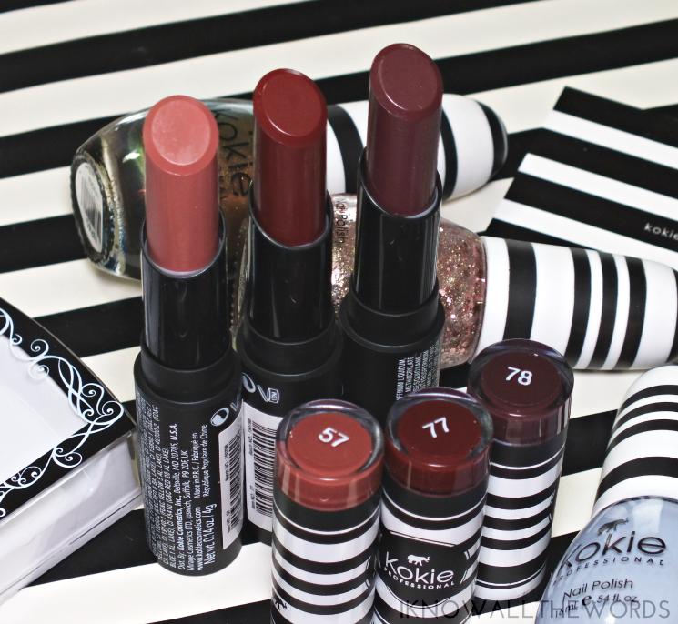 kokie cosmetics matte lipsticks hihg tea, pinot vamp (1)