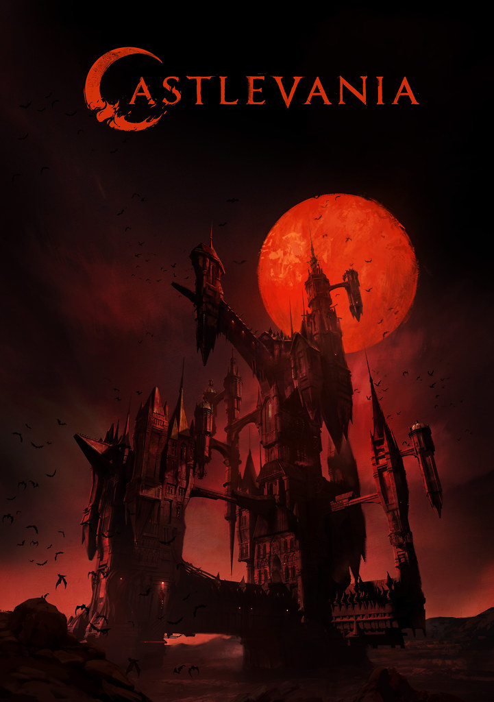 Castlevania Series Key Art Curse Castle
