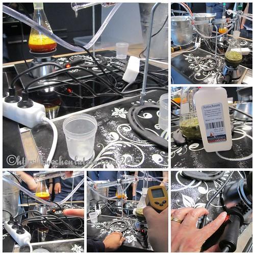 ©Gin Workshop in der Küche Ahoi - Piment-Lemongrass-Destillation