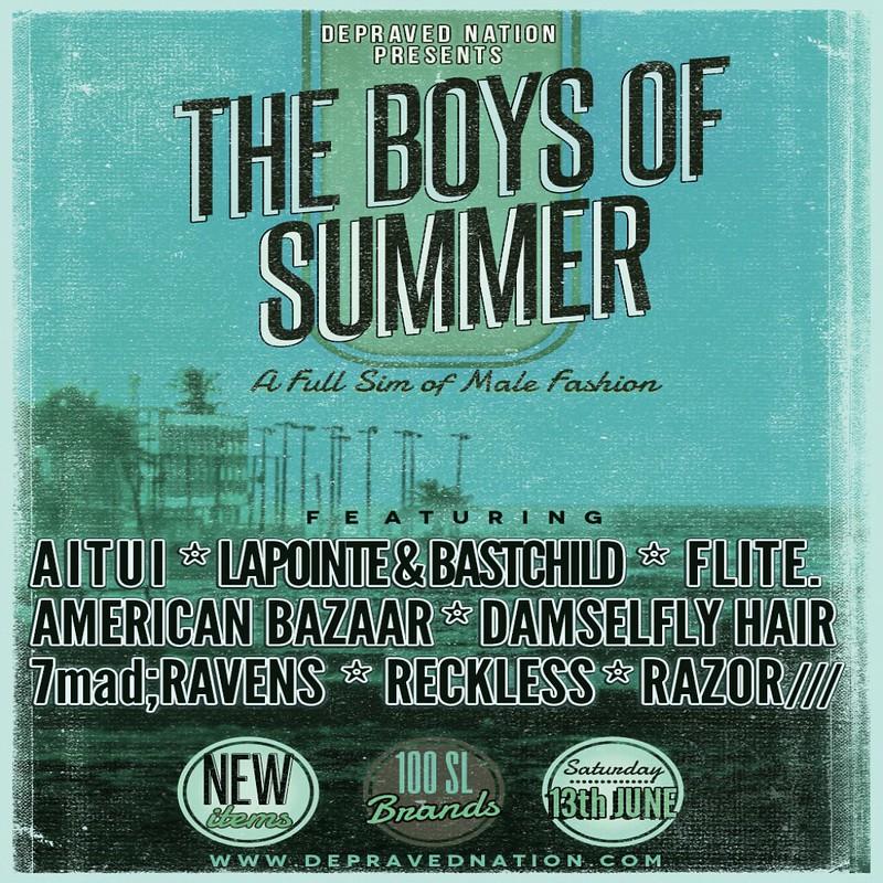 Boys of Summer 2015