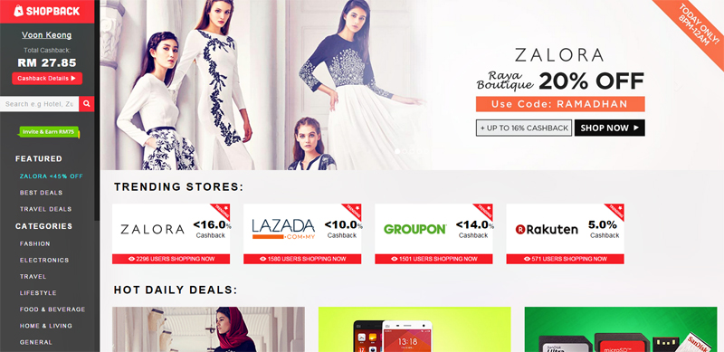 ShopBack-Website