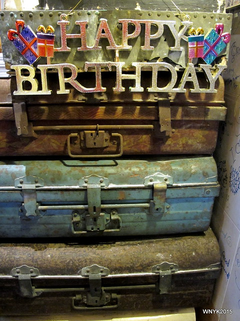 Happy Birthday Luggage