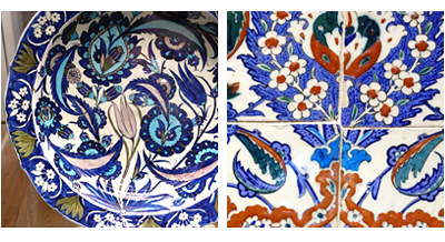 Iznik Designs from London Museums