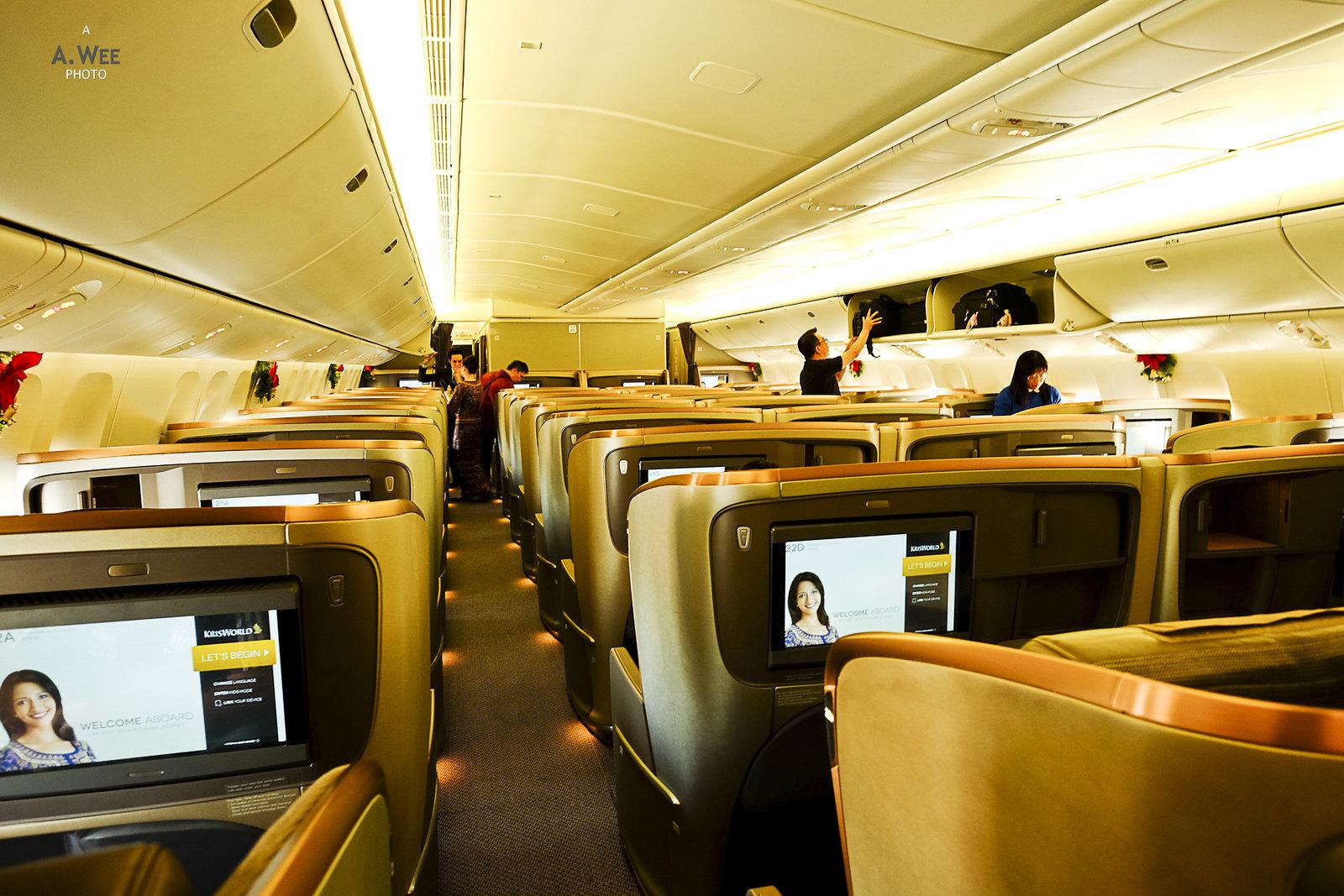 New Business Class cabin