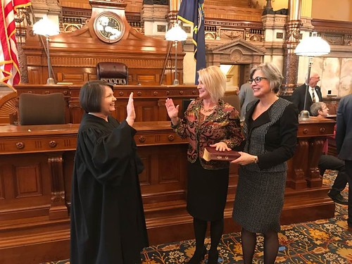 Official Swearing In at the Statehouse today!  Let the Session begin!!!   #betterkansas