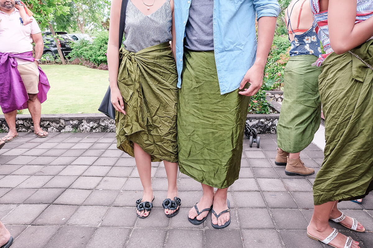 Seph Cham and Trice Nagusara at Bali, Indonesia
