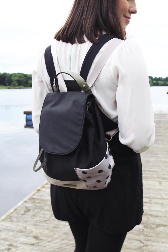 pinafore trend fashion blogger uk