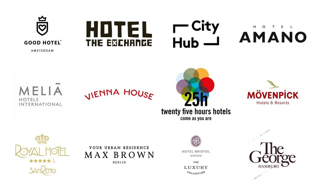 Hotelbrands we work with