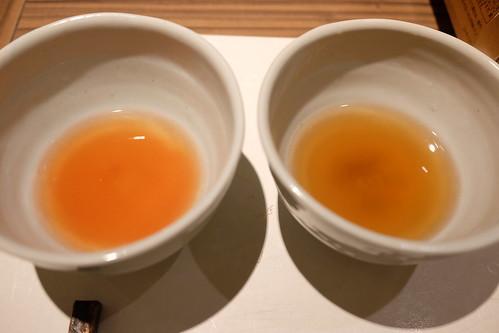 炊き肉鍋 佐賀牛と黒宝豚 タレ2種 塩ベースのテールスープ,トマトベースのスープ