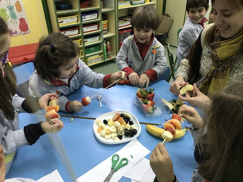 Infantil. Taller de padres. Alimentación saludable