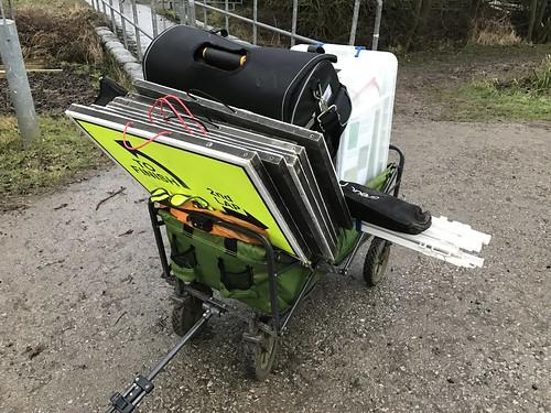 Fully loaded trolley!