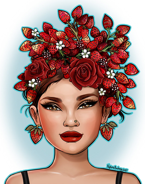 Strawberry Singh by Nylon Pinkney