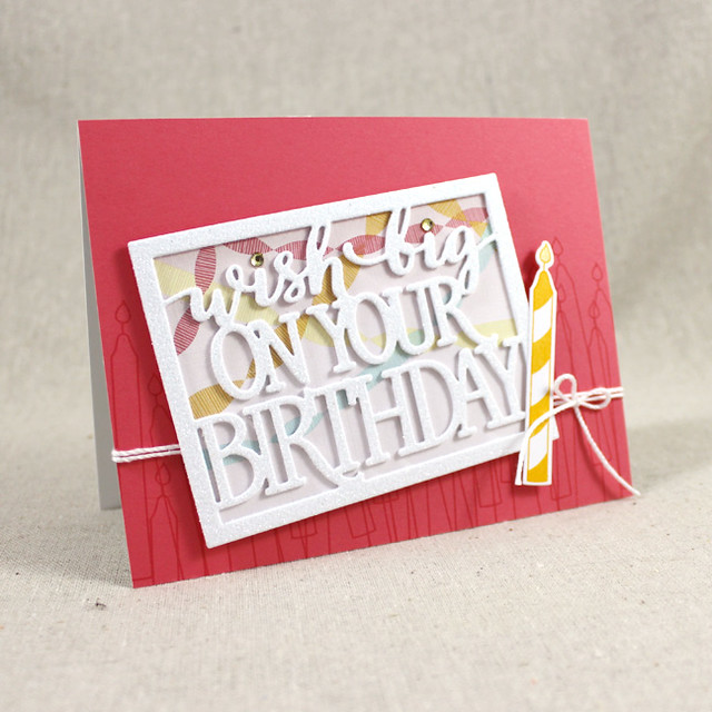 Birthday Candle Wish Card
