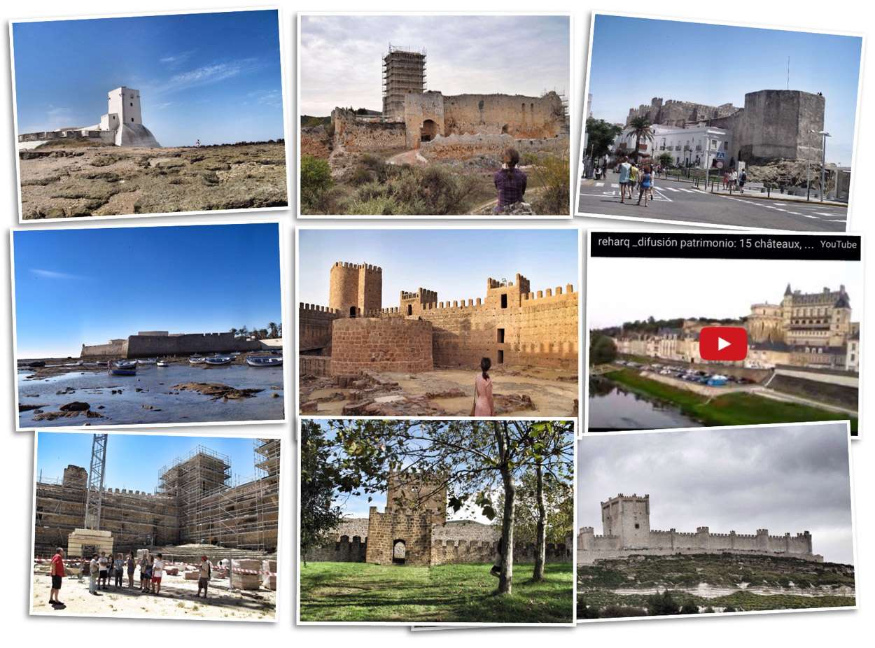 reharq_recopilacion castillos_patrimonio defensivo_militar