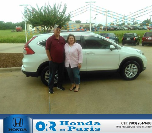 Honda of paris in texas for Orr honda of paris