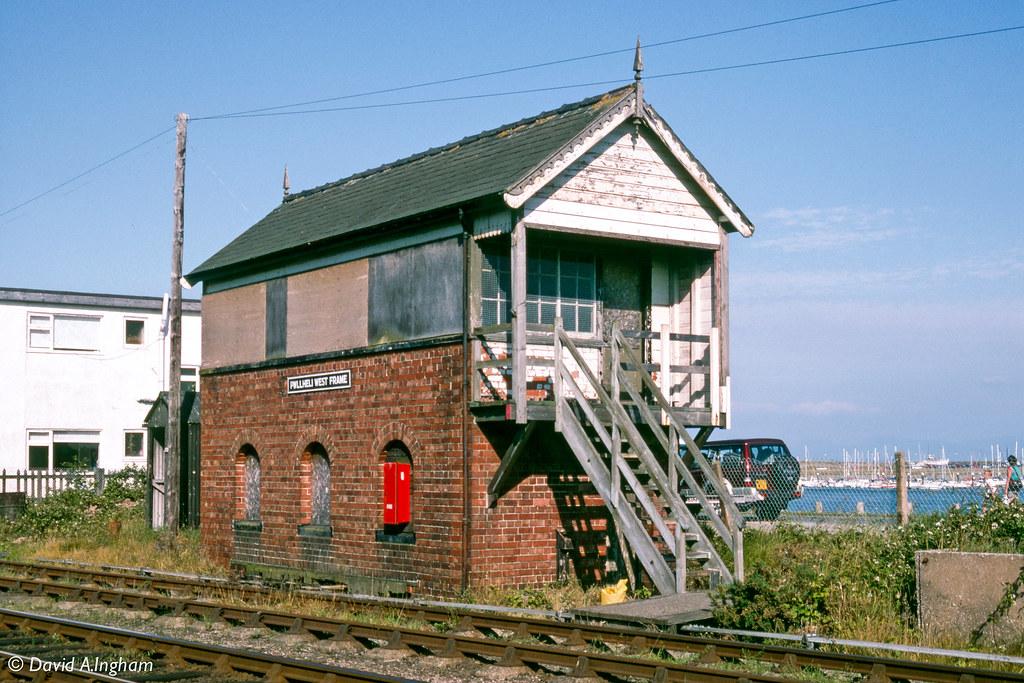 Pwllheli West Frame Pwllheli West Frame Signal Box