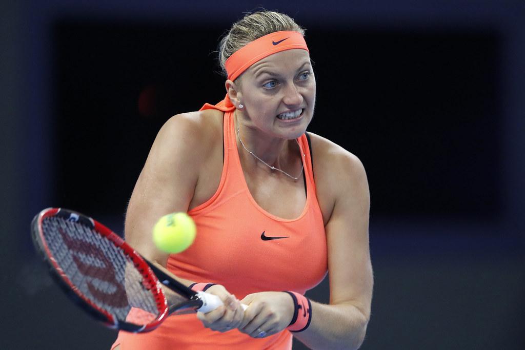 Petra Kvitova受傷後手術順利。(達志影像資料照)