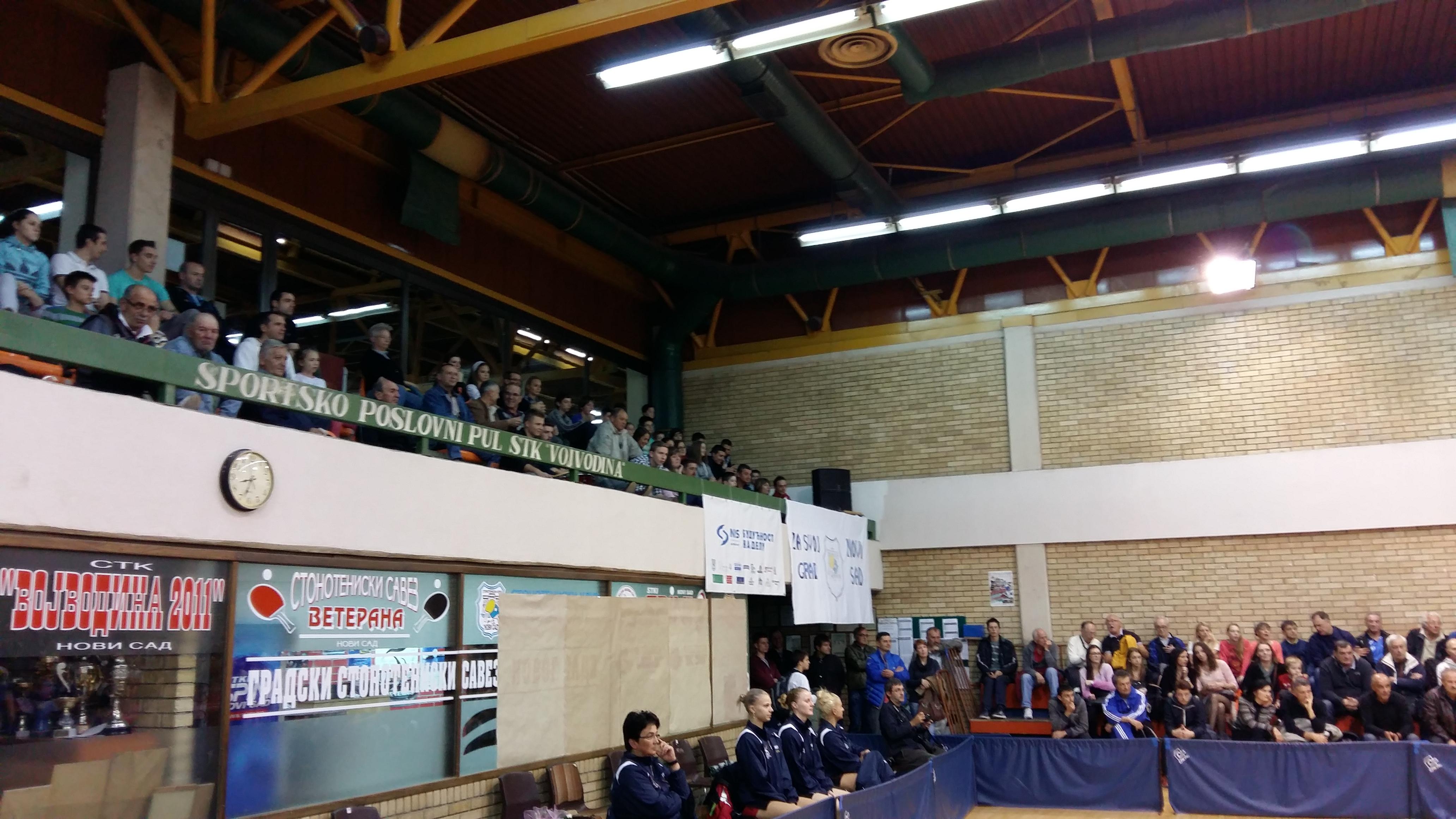 Ettu Cup N.Sad - Dumbrovica, Rumunija (novembar 2015)