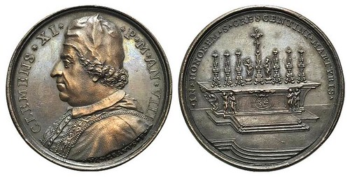 Pope Clement XI Medal