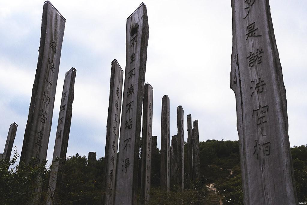 lavlilacs Hong Kong Lantau Island Ngong Ping mountain trail