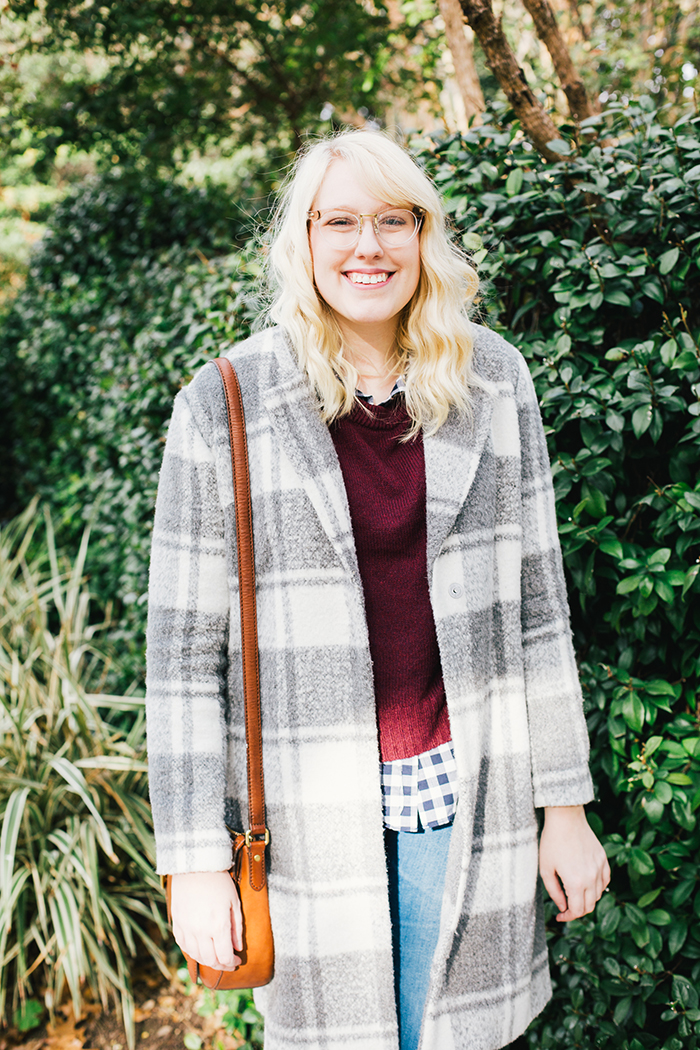 austin style blogger gingham winter outfit3