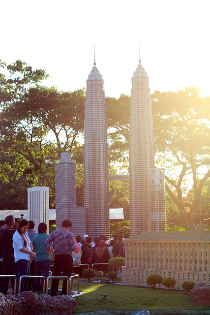 Lego Miniland KLCC twin towers