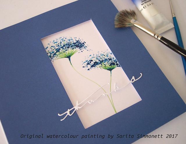 Watercolour flower 2b
