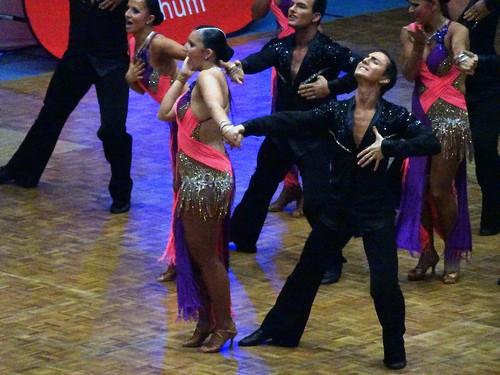 Competetive Dancing in Bochum: Oberliga West I Latein