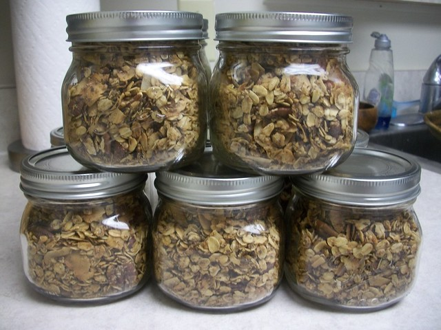 oatmeal cookie granola 12
