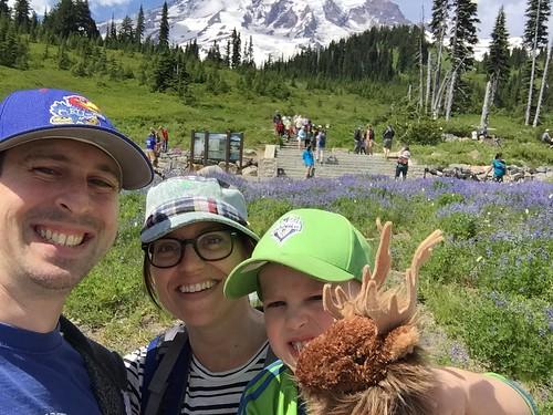 Mt. Rainier Selfie 2