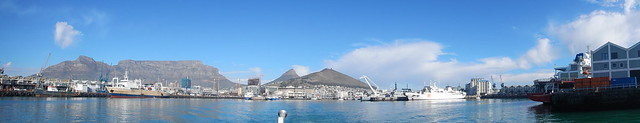 Panorama of the V&A Waterfront